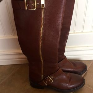 EUC BCBGeneration Tall Brown Leather Boots